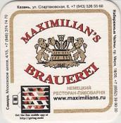 MAXIMILIAN`S BRAUEREI